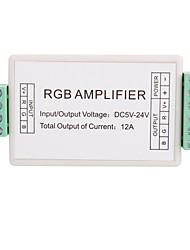 3a 3-kanaals mini rgb led versterker controller voor rgb led strip licht (dc 5-24V)