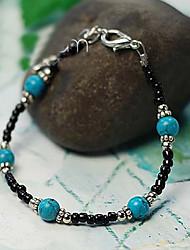 Suofeiya Coral Beads Bracelet_s13 Blue