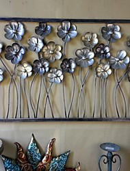 Metal Wall Art Wall Decor,The Flowers Were Blossoming Open Wall Decor