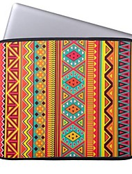 """Elonbo Bohemian Beautiful Stripe Tablet Neoprene Protective Sleeve Case for 11"""" Macbook Air Dell Acer HP"""