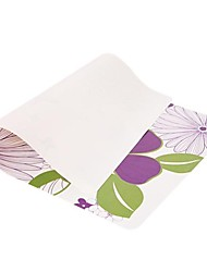 Flower Printing Heat Insulation Eat Mat for Cup or Plate Plastic  43cm x 28cm