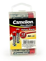 Camelion Plus Alkaline AA Battery in Container Box of 12 PCS