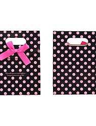 Lureme Fashion Wave Point Bowknot Gift  Bag(1Pc)