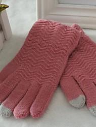унисекс новый емкостный сенсорный экран заставки толстых теплых перчатках