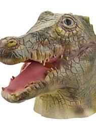 Syvio hoogwaardige latex krokodilhoofd halloween slip-on masker
