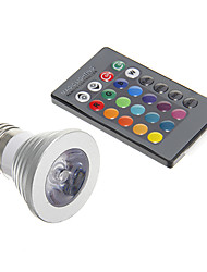 sanan Lâmpada de Foco Decorativa E26/E27 4 W 150 LM 5000 K RGB/Muda de Cor 1 AC 85-265 V