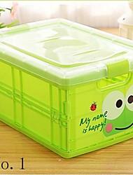 1 шт мультфильм шаблон большой пластиковый ящик для хранения контейнеров