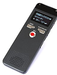 Hiigh Quality Slim Thin Digital Voice Recorder Dictaphone Pen Voice Recorder Voice Activated 8GB with Mp3 Player