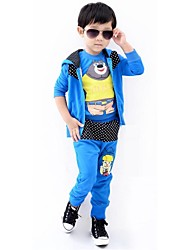 Boy's Cotton Clothing Set,Winter / Spring / Fall