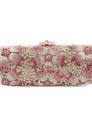 Women Event/Party Evening Bag Pink / Gold
