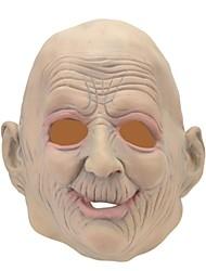 SYVIO de alta calidad de látex antiguo jefe hombre de halloween máscara del slip-on
