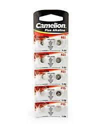 Camelion 1.5В кнопку AG5 щелочная батарея (10шт)