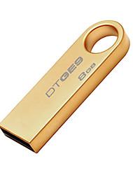 kingston dtge9 ultra-fina borda usb flash drive 8gb