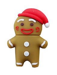 8GB USB Flash Drive for Christmas (The Gingerbread Man)