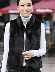 XT Rabbit Fur Waistcoat_9 (Black)