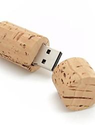 2gb creative usb flash drive di legno