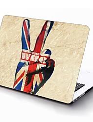 bandera del Reino Unido y el que sí diseño de cuerpo completo estuche protector de plástico para el de 11 pulgadas / 13 pulgadas El nuevo iPad