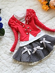 Girls Outwear Clothing Suit Set Case Kids Clothing