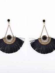 Earring Drop Earrings Jewelry Women Wedding / Party / Daily / Casual / Sports Alloy / Acrylic / Rhinestone / Fabric
