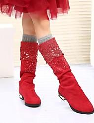 Kunst-Veloursleder - MÄDCHEN - Fashion Boots - Stiefel