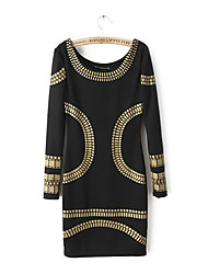 Women's Dresses , Polyester Casual SLY&ME