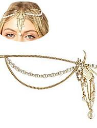 rétro bijou de style européen bandeaux diamants perles