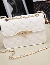 Women's PU Leather Messenger Handbag Shoulder Bag Totes Purse
