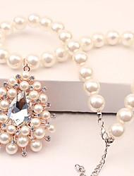 Russana Women's Occident Style Diamante Necklace