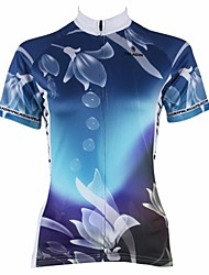 PALADIN Cycling Tops / Jerseys Women's Bike Breathable / Ultraviolet Resistant / Quick Dry Short Sleeve 100% Polyester Nature & Landscapes
