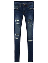 Women's Jeans , Cotton Casual RLK