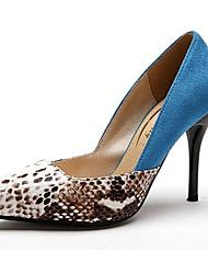Stöckelabsatz - Wildleder - FRAUEN Absätze - Pumps / High Heels ( Blau )