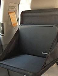 Black Portable Car Seat Back Computer Tray Desk Table