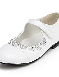 Girl's Shoes Wedding Shoes Comfort Flats Wedding Black/White