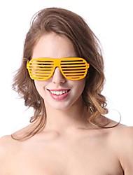 hawaii obturateur aveugle lunettes accessoire de fête d'Halloween