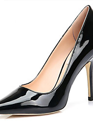 SenKa Women's Patent Leather Temperament Stiletto Heel Sexy Pumps