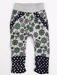 Girl's Pants,Cotton Spring / Fall Gray