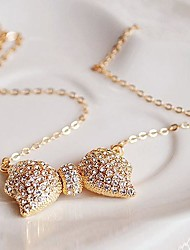 Unisex Rhinestone Necklace Daily Rhinestone