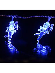 LED String Light 60 Lights Modern Angel Shape Blue Plastic 6m 220V