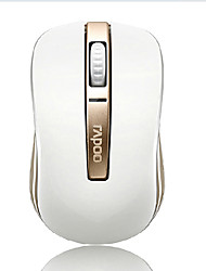 Rapoo 6610 Luxury Gold Color Bluetooth Double Moding Wireless Mouse 1000 DPI