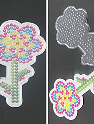 1PCS Template Clear Pegboard Sunflower Pattern for 5mm Hama Beads Perler Beads Fuse Beads