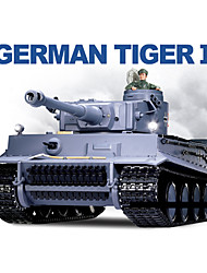 Heng Long 1/16 German Tiger I RC Heavy Battle Tank with Simulated Smoke