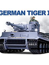 Heng lungo 1/16 German Tiger I RC Heavy Battle Tank con simulato Smoke