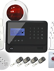 GS-G90E Wireless GSM Alarm System With Touch Keypad for APP iOS and Android