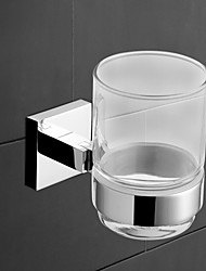 YALI.M®,Toothbrush Holder Chrome Wall Mounted Brass Contemporary