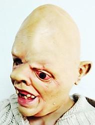 una persona ojo ojos en la máscara de látex de fuego para la fiesta de disfraces de Halloween (1 pc)