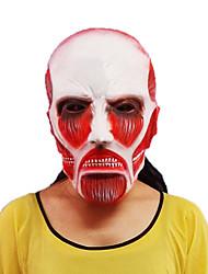 ataque a titan látex natural máscara de halloween props de cine