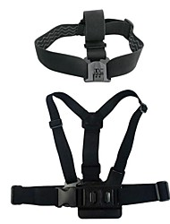 Accessories For GoPro,Chest Harness Front Mounting Straps Mount/HolderFor-Action Camera,Gopro Hero 3 Gopro Hero 5Aviation Motorcycle