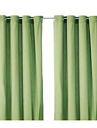 One Panel Curtain Modern , Solid Polyester Material Curtains Drapes Home Decoration For Window