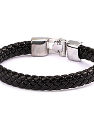 style punk bracelet en cuir en alliage coloré (1 pc)