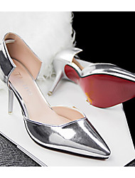 Beauty Girl Women's Vintage OL Style Pierced Pointed Toe Wedding Shoes